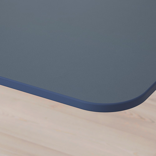 BEKANT reg. rašomasis stalas su sienele