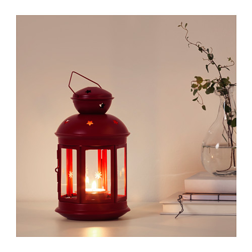 VINTERFEST lantern for tealight