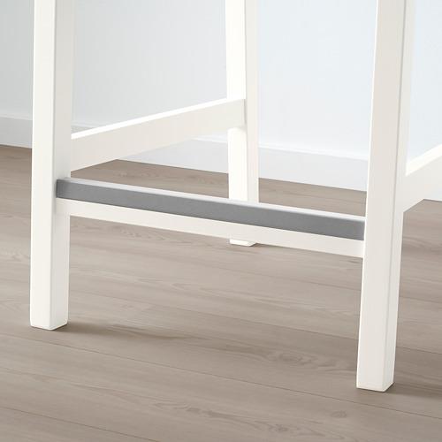 EKEDALEN bāra krēsls ar atzveltni