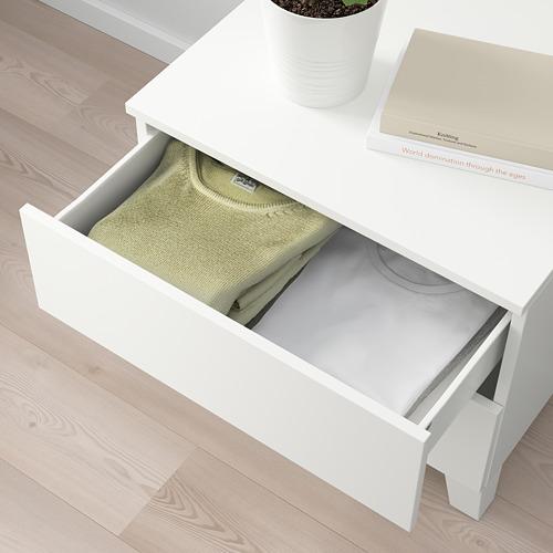 PLATSA chest of 2 drawers