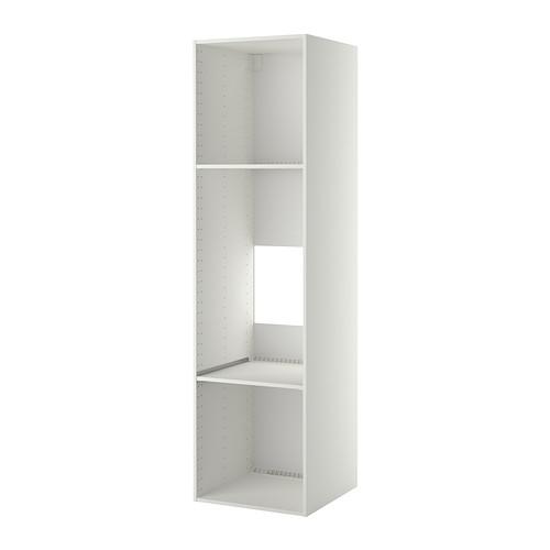 METOD high cabinet frame for fridge/oven