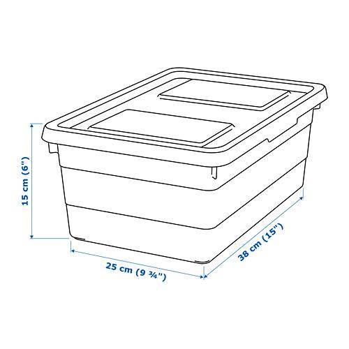 SOCKERBIT dėžė su dangčiu
