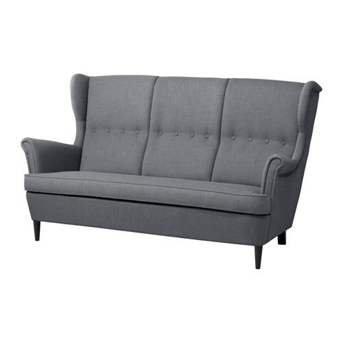 STRANDMON three-seat sofa