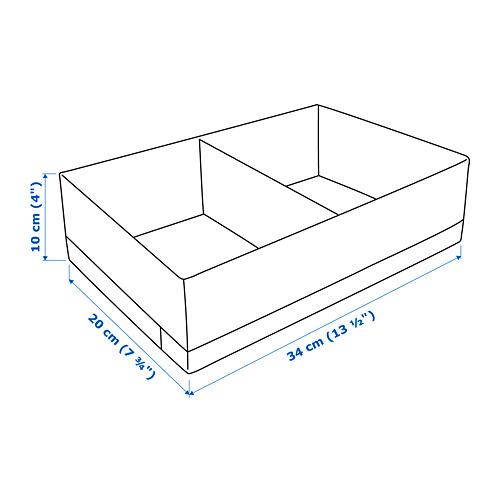 STUK dėžė su skyriais