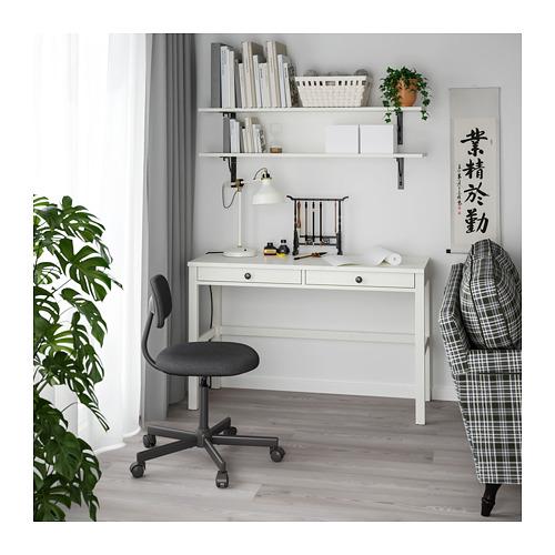 HEMNES desk with 2 drawers