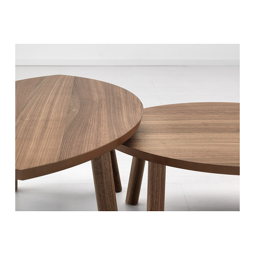 STOCKHOLM nest of tables, set of 2