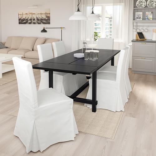 HENRIKSDAL/NORDVIKEN galds un 4 krēsli