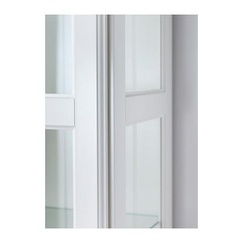 LIATORP spintelė su stiklinėmis durimis