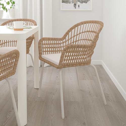 NORNA/NILSOVE krēsls ar paliktni