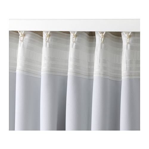 VILBORG curtains, 1 pair