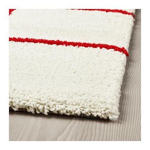 SIMESTED paklājs ar garām plūksnām