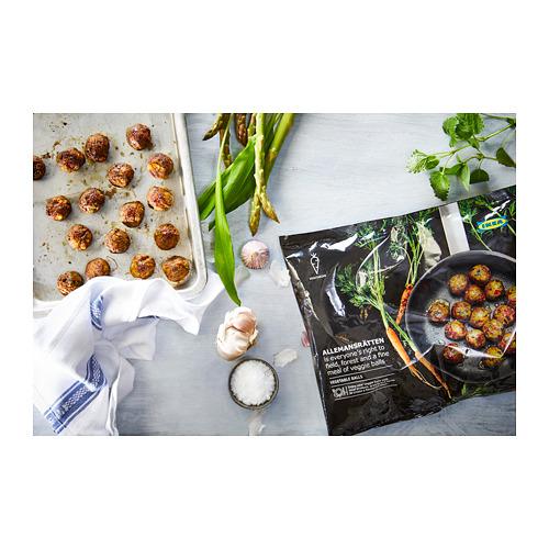 ALLEMANSRÄTTEN dārzeņu bumbiņas, saldētas