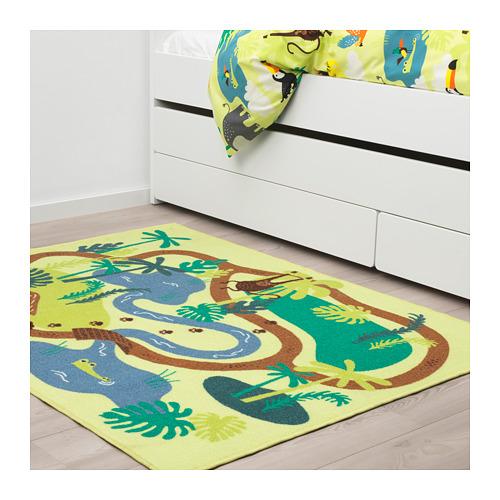 DJUNGELSKOG paklājs ar īsām plūksnām