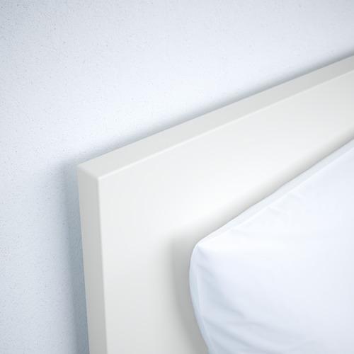 MALM aukštas lovos rėmas su 4 stalčiais