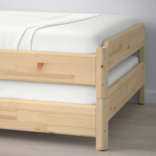 UTÅKER viena ant kitos užd. lovos, 2 čiuž.