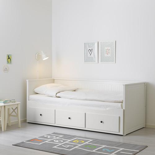 HEMNES каркас кровати-кушетки с 3 ящиками