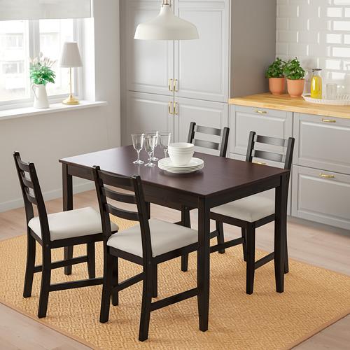 LERHAMN galds un 4 krēsli