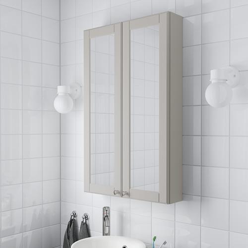 GODMORGON зеркальный шкаф с 2 дверцами