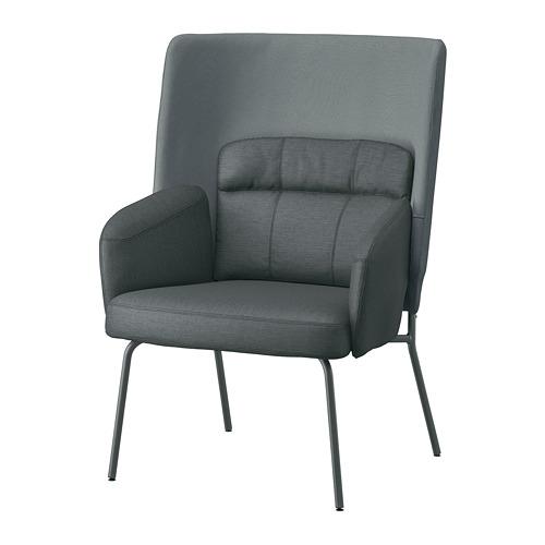 BINGSTA atpūtas krēsls ar augstu atzveltni