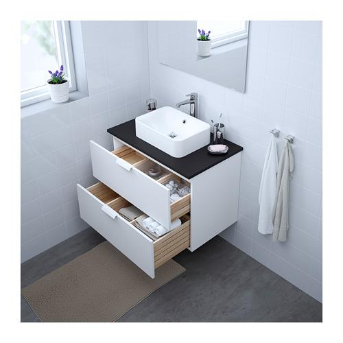 HÖRVIK/GODMORGON/TOLKEN skap. ar virsmu un izlietni (45x32)