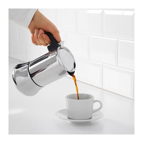 RÅDIG espreso kavinukas, 6 puod.