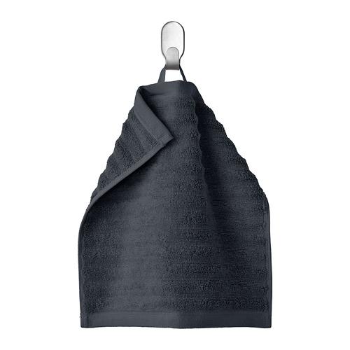 FLODALEN dvielis, 30x30 cm,  tumši pelēkā krāsā