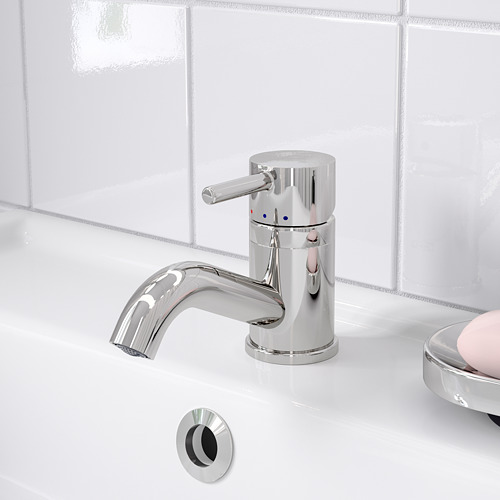 PILKÅN wash-basin mixer tap with strainer