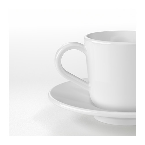 IKEA 365+ espresso cup and saucer
