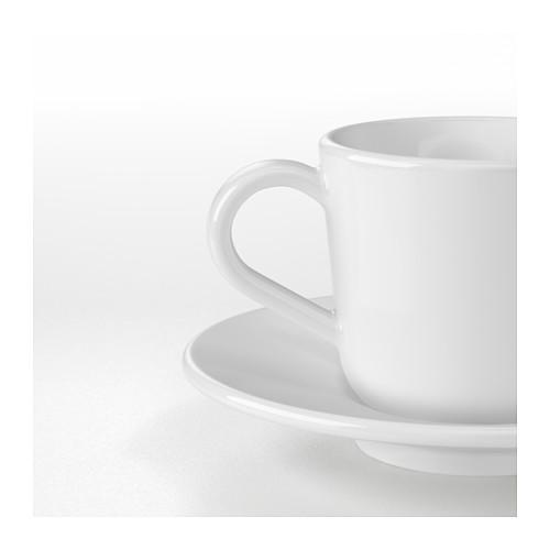 IKEA 365+ espreso krūze un apakštase