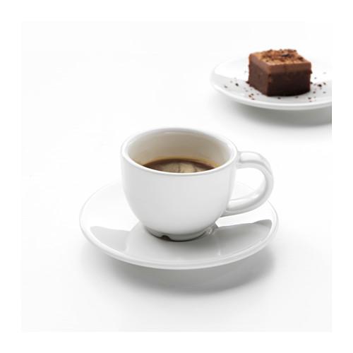 VARDAGEN Espreso kavos puodelis su lėkštute