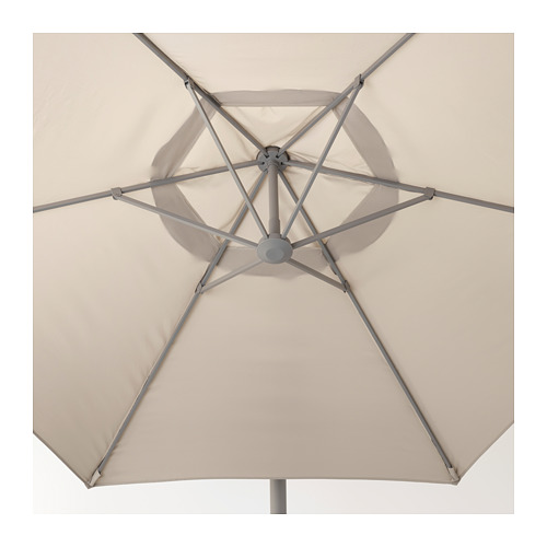 LINDÖJA/OXNÖ kabamasis lauko skėtis su pagrindu