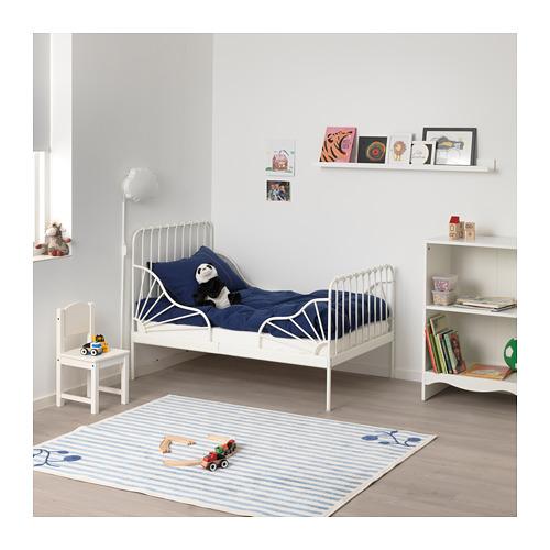MINNEN pagarināmās gultas rāmis ar redelēm