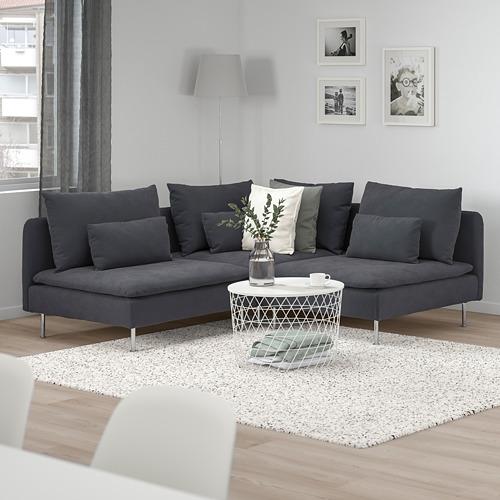 SÖDERHAMN corner sofa, 3-seat