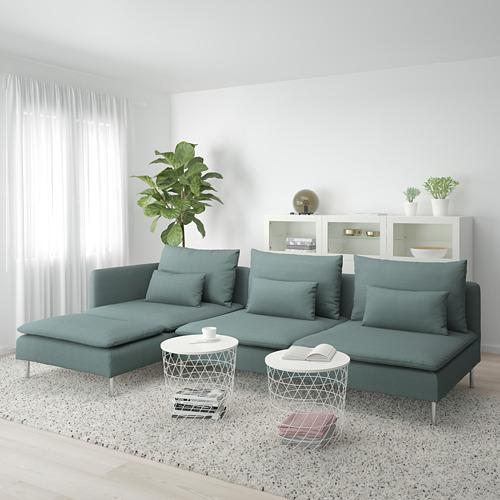 SÖDERHAMN keturvietė sofa