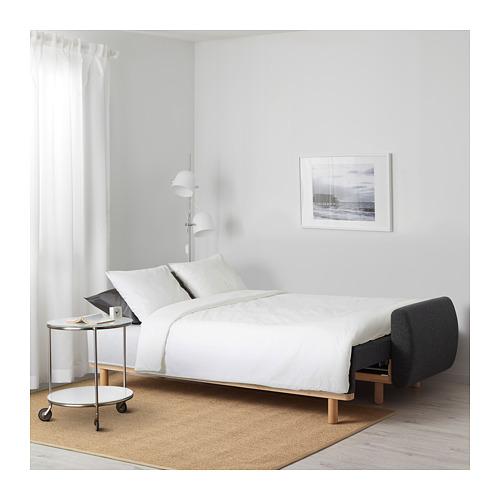 GRUNNARP trivietė sofa-lova