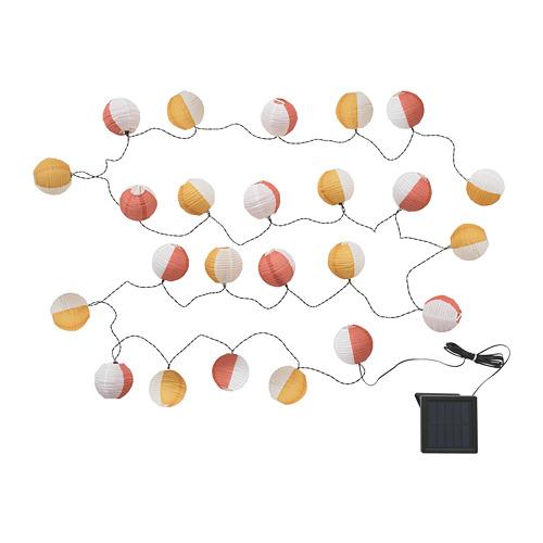 SOLVINDEN 24 LED lempučių girlianda