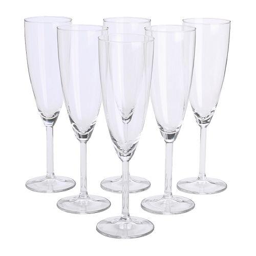 SVALKA champagne glass