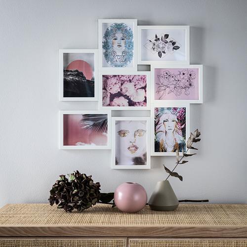 VÄXBO collage frame for 8 photos