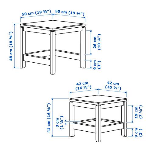 HAVSTA staliukų rinkinys, 2 vnt.