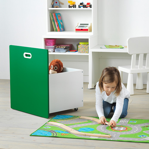 STUVA/FRITIDS stalas su vieta žaislams