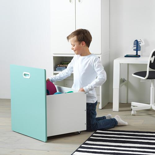 FRITIDS/STUVA drabužių spinta su vieta žaislams