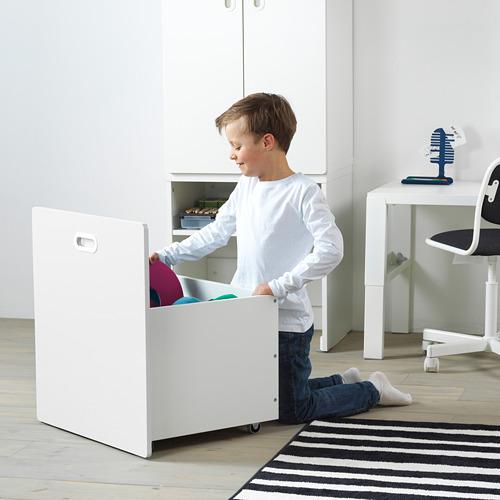 FRITIDS/STUVA skapis ar nodalījumu rotaļlietām