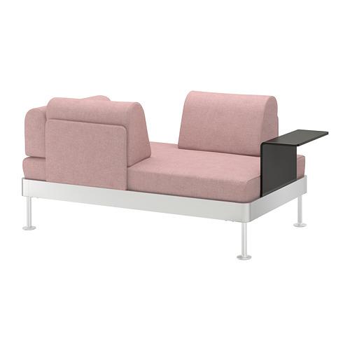 DELAKTIG divvietīgs dīvāns ar galdiņu
