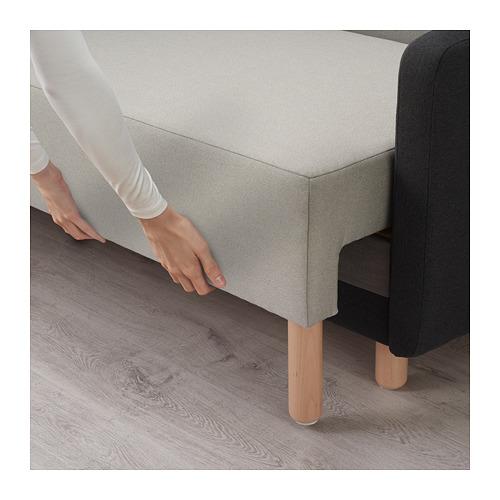 BENNEBOL trivietė sofa-lova