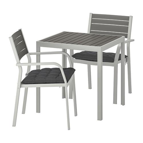 SJÄLLAND lauko stalas ir 2 kėdės