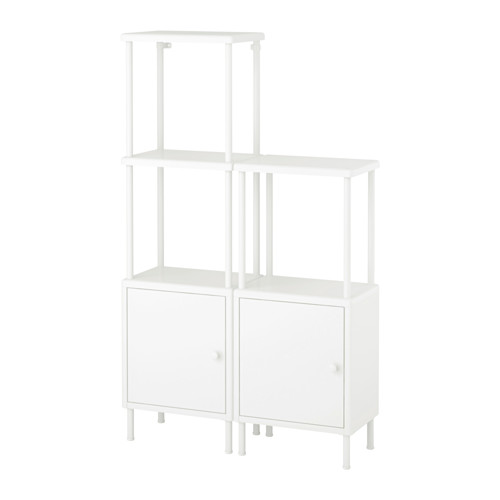 DYNAN shelving unit with 2 cabinets