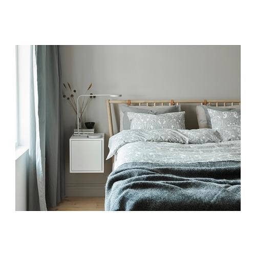 JÄTTEVALLMO quilt cover and pillowcase