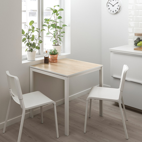 TEODORES/MELLTORP galds un 2 krēsli