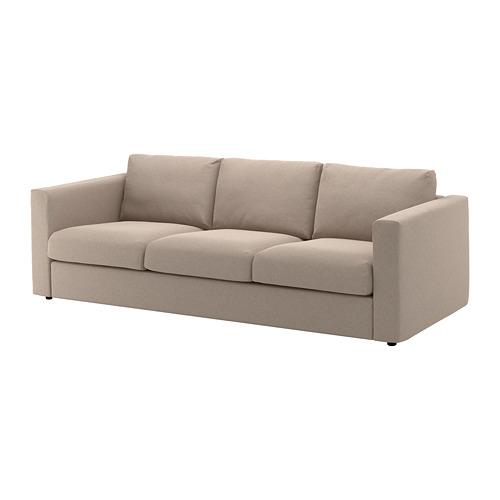 VIMLE trivietės sofos užvalkalas