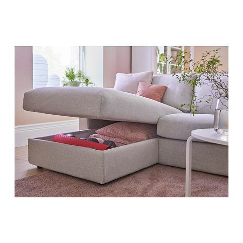 VIMLE trīsvietīgs guļamdīvāns